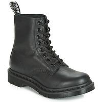 鞋子 女士 短筒靴 Dr Martens 1460 PASCAL MONO 黑色