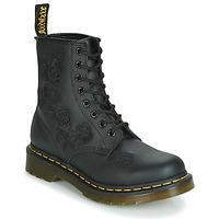 鞋子 女士 短筒靴 Dr Martens 1460 VONDA MONO SOFTY T 黑色