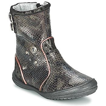 鞋子 女孩 都市靴 Catimini CLABAUD 古銅色 / 黑色