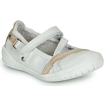 鞋子 女孩 平底鞋 Ramdam BEZIERS 白色