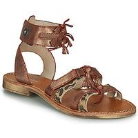 鞋子 女孩 凉鞋 Catimini CABRI 棕色