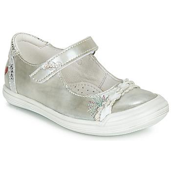 鞋子 女孩 平底鞋 GBB MARION 銀灰色