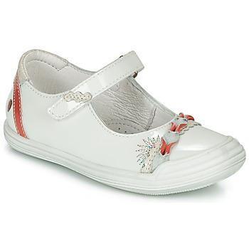 鞋子 女孩 平底鞋 GBB MARION 白色