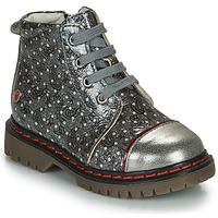 鞋子 女孩 短筒靴 GBB NEVA 灰色 / 金属光泽