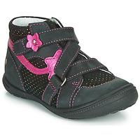 鞋子 女孩 短筒靴 GBB NINA 黑色 / 玫瑰色
