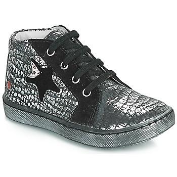 鞋子 女孩 高帮鞋 GBB LETO 黑色 / 银灰色