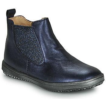 鞋子 女孩 短筒靴 Achile SARA 海蓝色