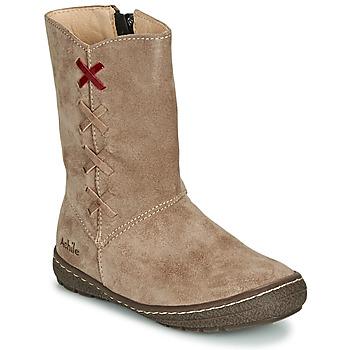 鞋子 女孩 都市靴 Achile SOFIA 米色