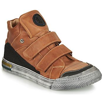 鞋子 男孩 高帮鞋 Achile HUGO 棕色