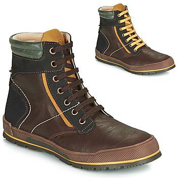鞋子 男孩 短筒靴 Achile MANUEL 棕色