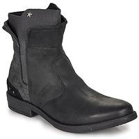鞋子 女孩 短筒靴 Ikks PAMELA 黑色