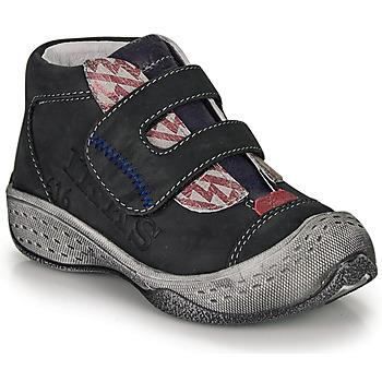 鞋子 男孩 短筒靴 Ikks VICTOR 黑色