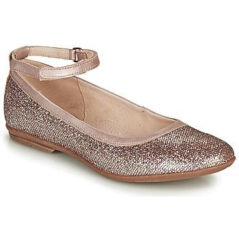 鞋子 女孩 平底鞋 Achile DANIELA 玫瑰色