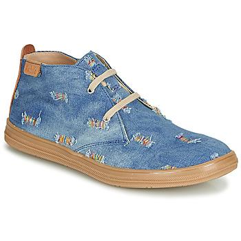 鞋子 女孩 高帮鞋 Achile ANDREA 蓝色