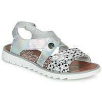 鞋子 女孩 凉鞋 Achile HIKARI 银灰色