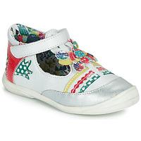 鞋子 女孩 平底鞋 Catimini PANTHERE 白色 / 多彩