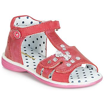 鞋子 女孩 涼鞋 Catimini PUCE 玫瑰色