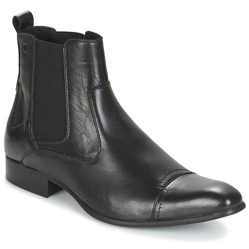 鞋子 男士 短筒靴 Carlington 卡尔顿 RINZI 黑色