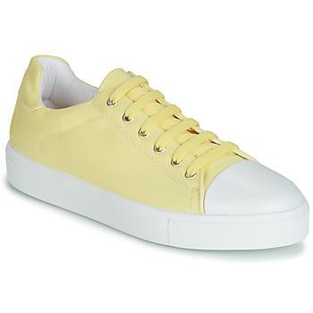 鞋子 女士 球鞋基本款 André SAMANA 黄色