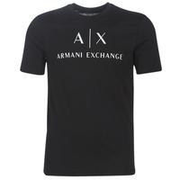 衣服 男士 短袖体恤 Armani Exchange 8NZTCJ-Z8H4Z-1200 黑色