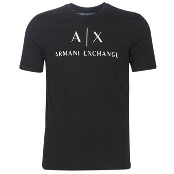 衣服 男士 短袖体恤 EMPORIO ARMANI EAX 8NZTCJ-Z8H4Z-1200 黑色
