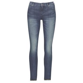 衣服 女士 紧身牛仔裤 EMPORIO ARMANI EAX 6GYJ25-Y2MKZ-1502 蓝色