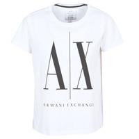 衣服 女士 短袖体恤 Armani Exchange 8NYTCX-YJG3Z-5102 白色