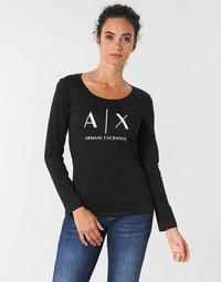 衣服 女士 长袖T恤 Armani Exchange 8NYTDG-YJ16Z-1200 黑色