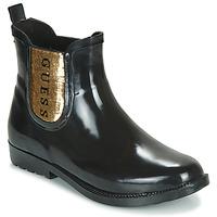 鞋子 女士 雨靴 Guess REKHA3 黑色 / 金色