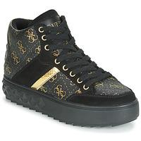 鞋子 女士 高帮鞋 Guess FIXIN 黑色
