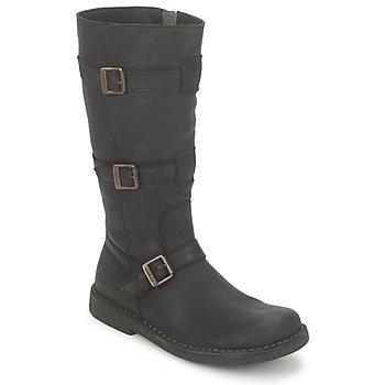 鞋子 女士 都市靴 Kickers LOCKNESS 黑色