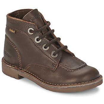 鞋子 儿童 短筒靴 Kickers KICK COL 棕色