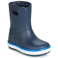 鞋子 儿童 雨靴 crocs 卡骆驰 CROCBAND RAIN BOOT K 海蓝色