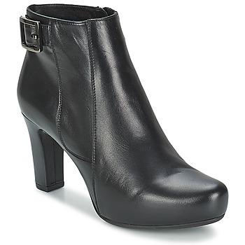 鞋子 女士 短靴 Unisa NAPUR 黑色