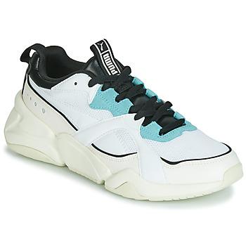 鞋子 女士 球鞋基本款 Puma 彪馬 NOVA 2 白色
