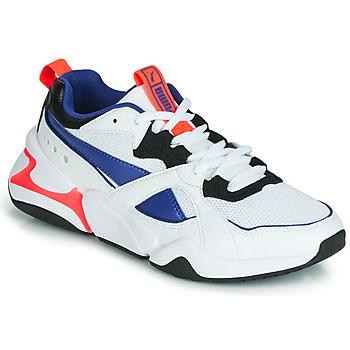 鞋子 女士 球鞋基本款 Puma 彪马 NOVA 2 白色 / 蓝色