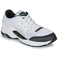 鞋子 球鞋基本款 Puma 彪马 FUTURE RUNNER PREMIUM 白色 / 黑色