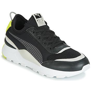 鞋子 男士 球鞋基本款 Puma 彪馬 RS-0 CORE 黑色