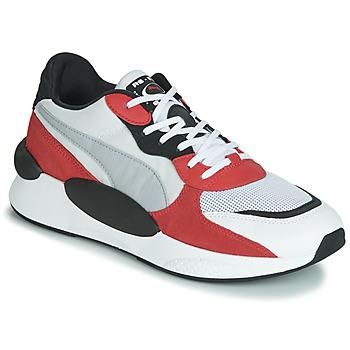 鞋子 男士 球鞋基本款 Puma 彪马 RS-9.8 TN SPACE 白色 / 红色
