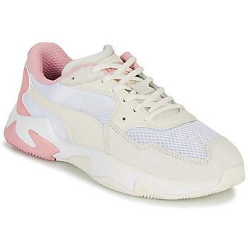 鞋子 男士 球鞋基本款 Puma 彪马 STORM ORIGIN PASTEL 白色