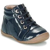 鞋子 女孩 短筒靴 Citrouille et Compagnie NICOLE.C 海蓝色 / 浅黄色