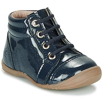 鞋子 女孩 短筒靴 Citrouille et Compagnie NICOLE.C 海藍色 / 淺黃色