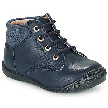 鞋子 男孩 短筒靴 Citrouille et Compagnie RATON.C Vtc / 海藍色