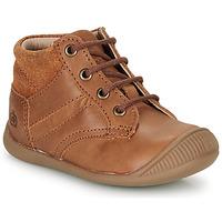 鞋子 男孩 短筒靴 Citrouille et Compagnie RATON.C Vtc / 棕色