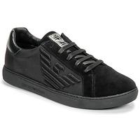 鞋子 男士 球鞋基本款 Emporio Armani X4X279-XM035-A085 黑色