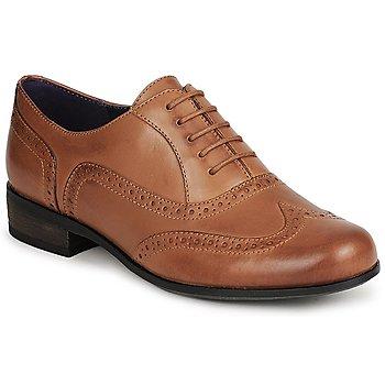 鞋子 女士 德比 Clarks 其乐 HAMBLE OAK 棕色