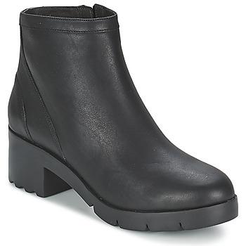 鞋子 女士 短靴 Camper 看步 WANDA 黑色