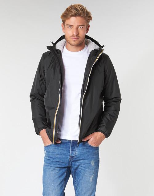 衣服 男士 夹克 K-Way LE VRAI 3.0 CLAUDE ORSETTO 黑色