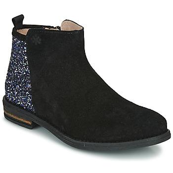 鞋子 女孩 短筒靴 Acebo's 8035-NEGRO 黑色
