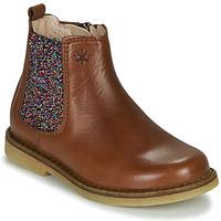 鞋子 女孩 短筒靴 Acebo's 5274-CUERO-J 棕色